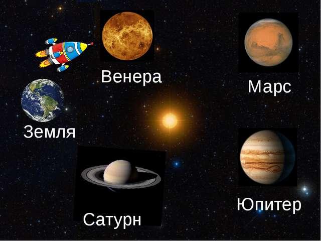 Марс Земля Сатурн Венера Юпитер