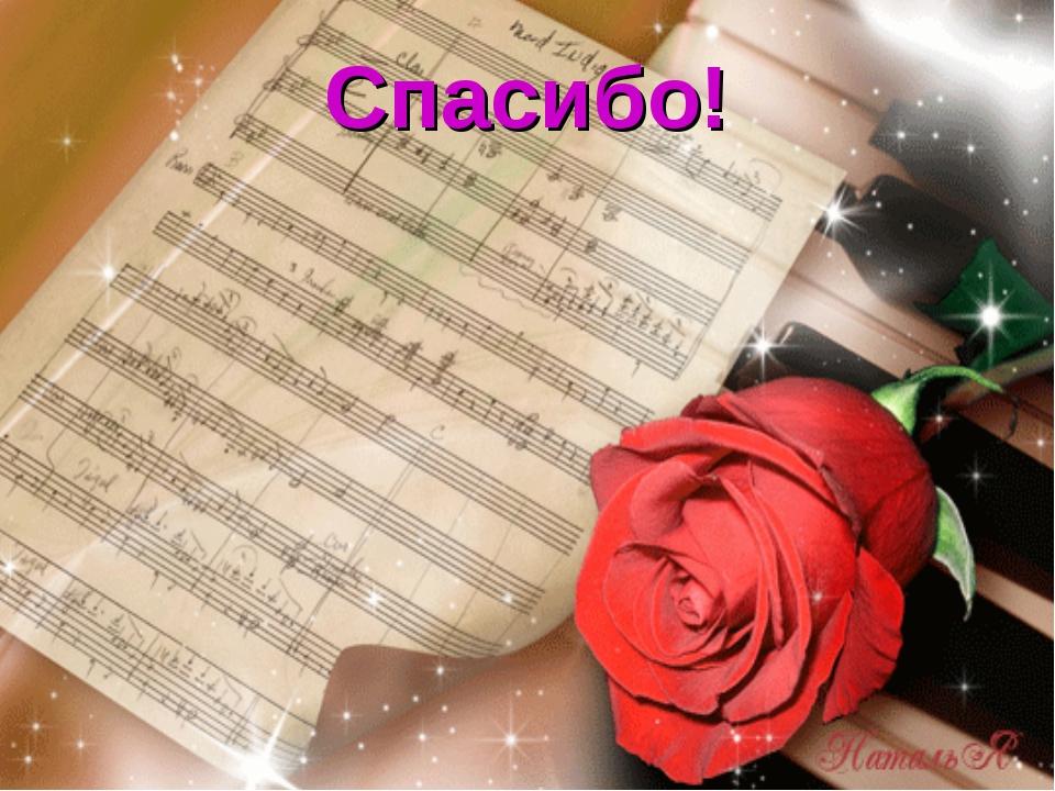 Музыка для слов поздравления