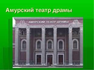 Амурский театр драмы