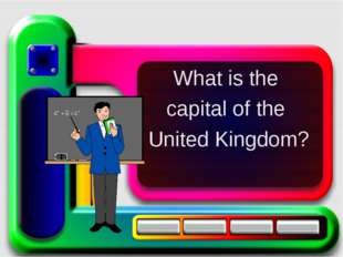 What is the capital of the United Kingdom?