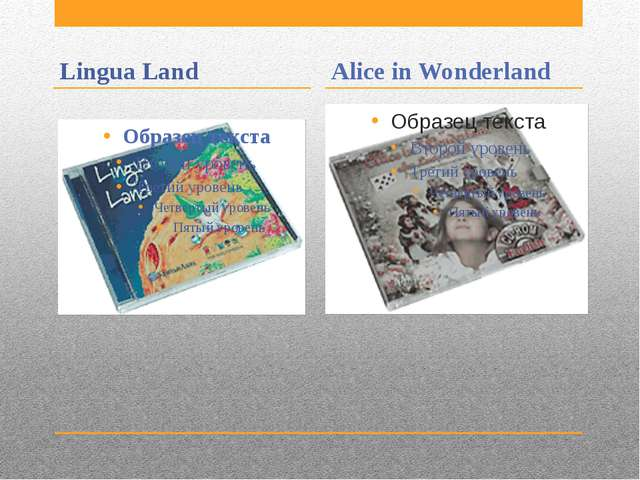Lingua Land Alice in Wonderland