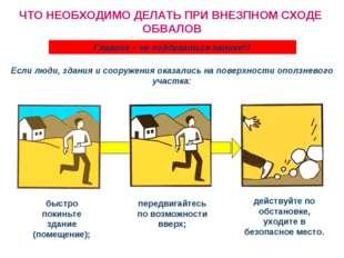 быстро покиньте здание (помещение); передвигайтесь по возможности вверх; дейс