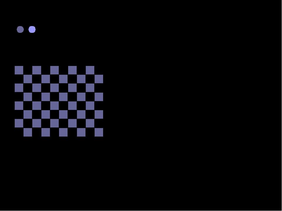 Рассмотрим шахматную доску. У нее 8 строк (горизонталей) и 8 столбцов (вертик...