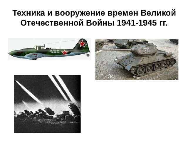 Техника и вооружение времен Великой Отечественной Войны 1941-1945 гг. Штурмов...