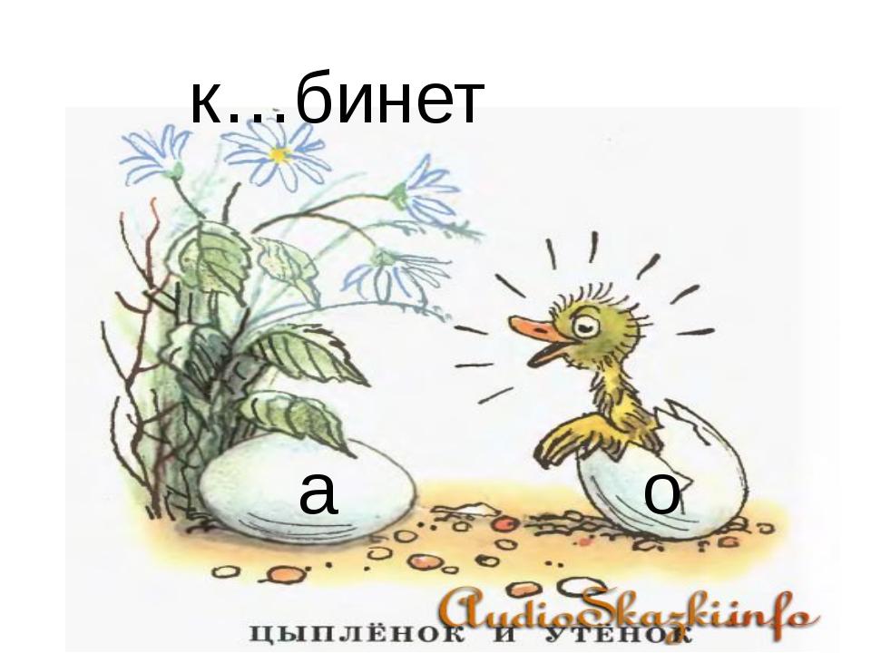 к…бинет а о