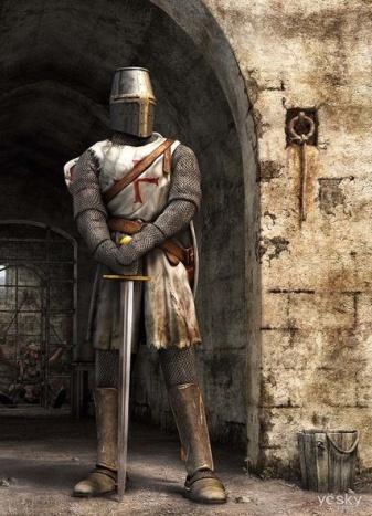 Рыцарская сага - Рыцари в картинках