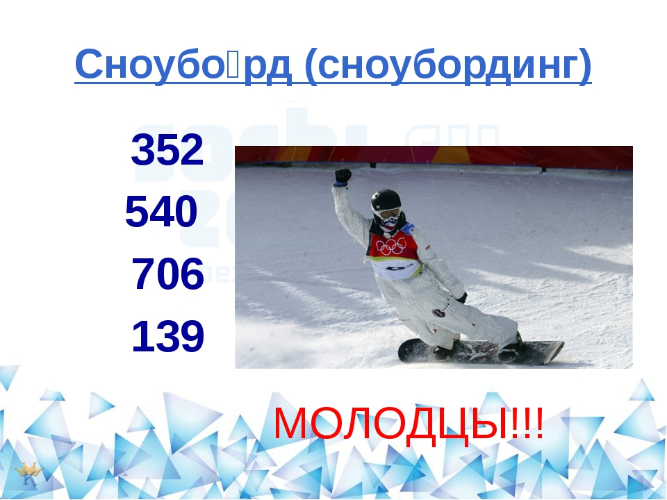 Сноубо́рд (сноубординг) 352 540 706 139 korolewa.nytvasc2.ru МОЛОДЦЫ!!!