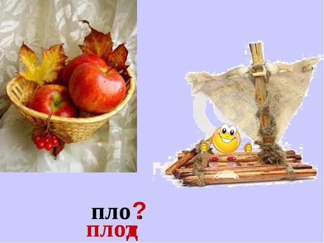 пло . ? плод плот