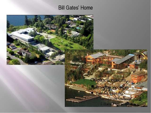 Bill Gates' Home