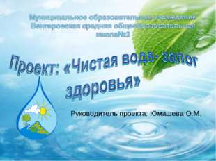 Руководитель проекта: Юмашева О.М.