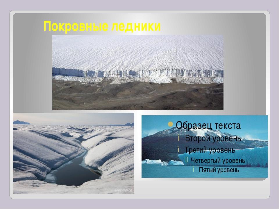Покровные ледники