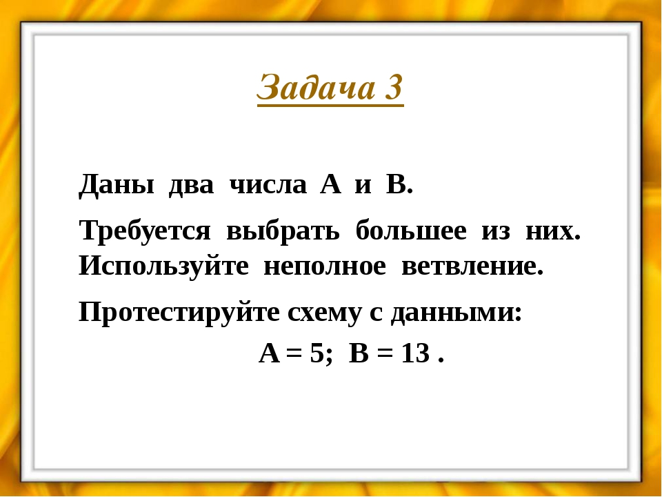 Составить блок-схему алгоритма нахождения значения функции Y : Задание 1