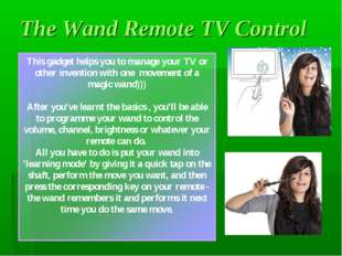 The Wand Remote TV Control