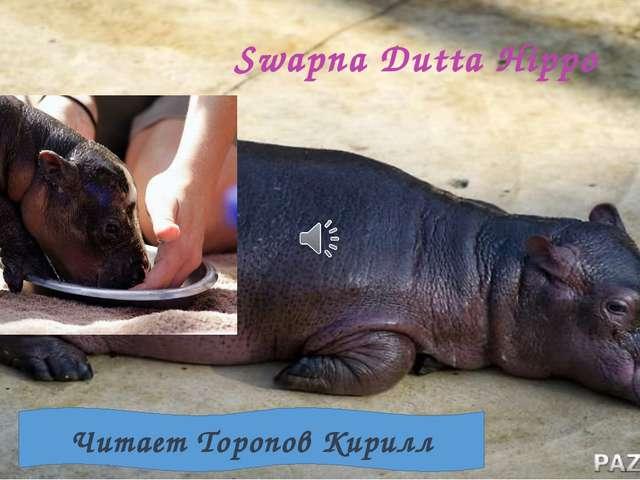 Swapna Dutta Hippo Читает Торопов Кирилл