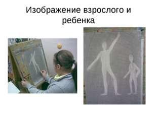Изображение взрослого и ребенка