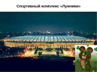 Спортивный комплекс «Лужники»