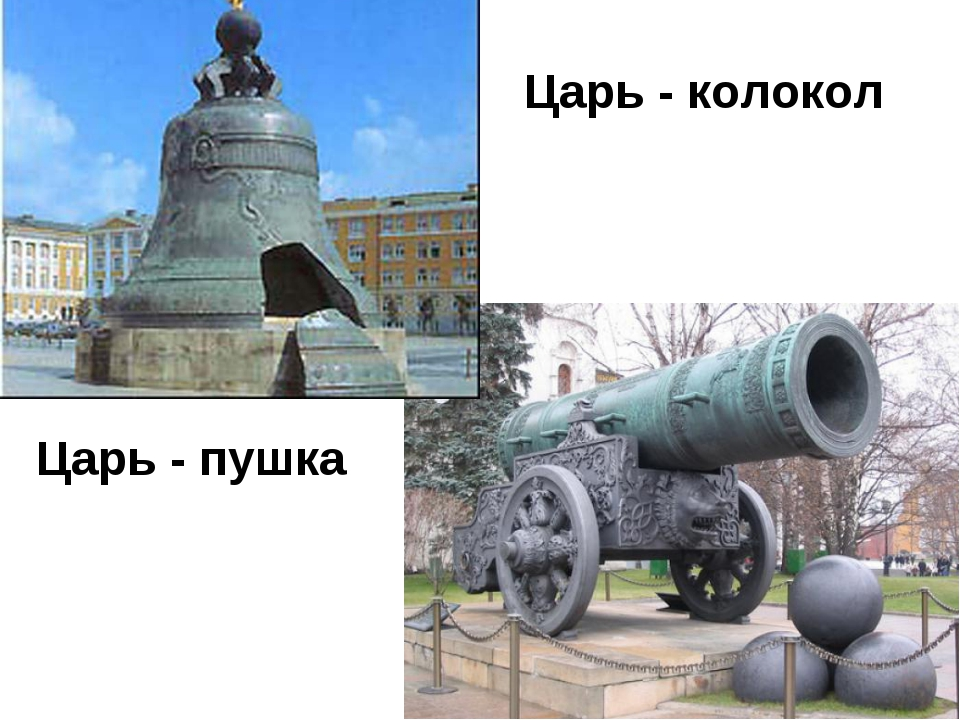Царь - колокол Царь - пушка