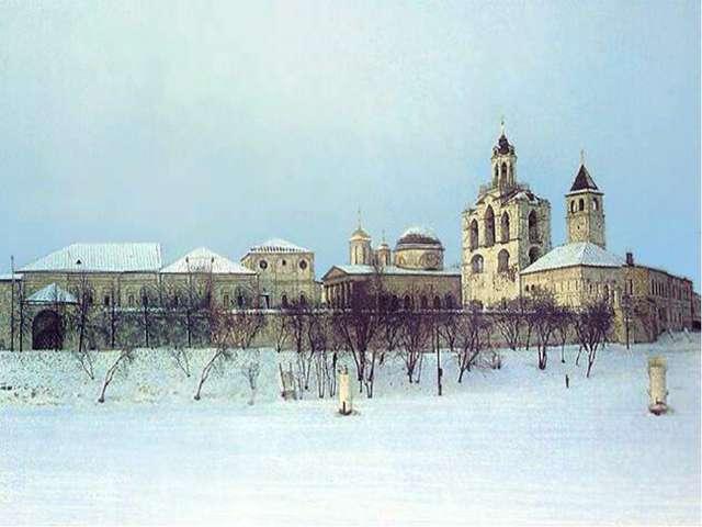 стены Спасо-Преображенского монастыря