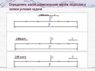 Определите, какой схематический чертёж подходит к записи условия задачи  24