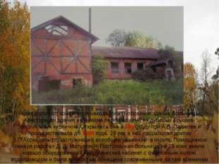 Через дорогу от конезавода находилось П-образное здание больницы. Конструкция