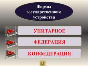 Формы политического режима ДЕМОКРАТИЯ АВТОРИТАРИЗМ ТОТАЛИТАРИЗМ 1. 3 2 4. Доп