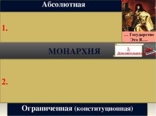 Республика Форма правления, при которой власть: избирается народом; несет отв