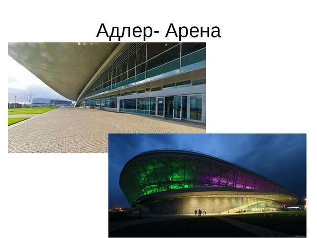 Адлер- Арена