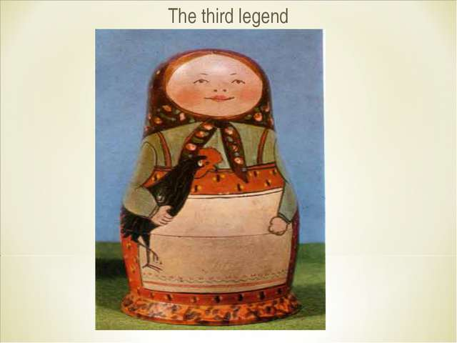 The third legend