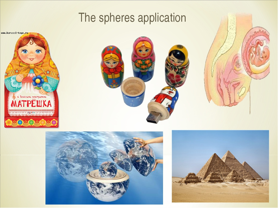 The spheres application