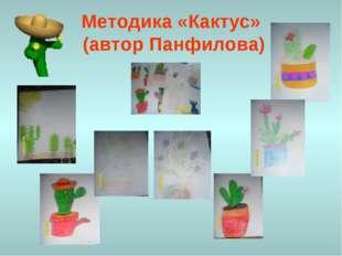 Методика «Кактус» (автор Панфилова)