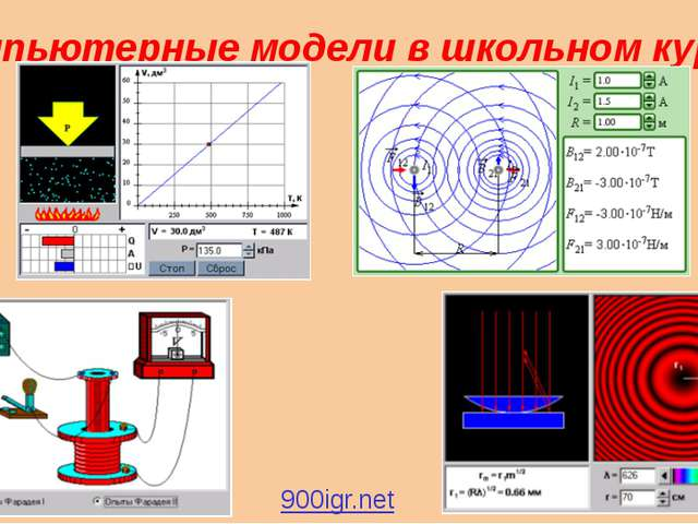 Компьютерные модели в школьном курсе 900igr.net Лабораторная работа. тема: Пл...