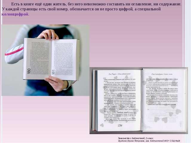 Есть в книге ещё один житель, без него невозможно составить ни оглавление, ни...