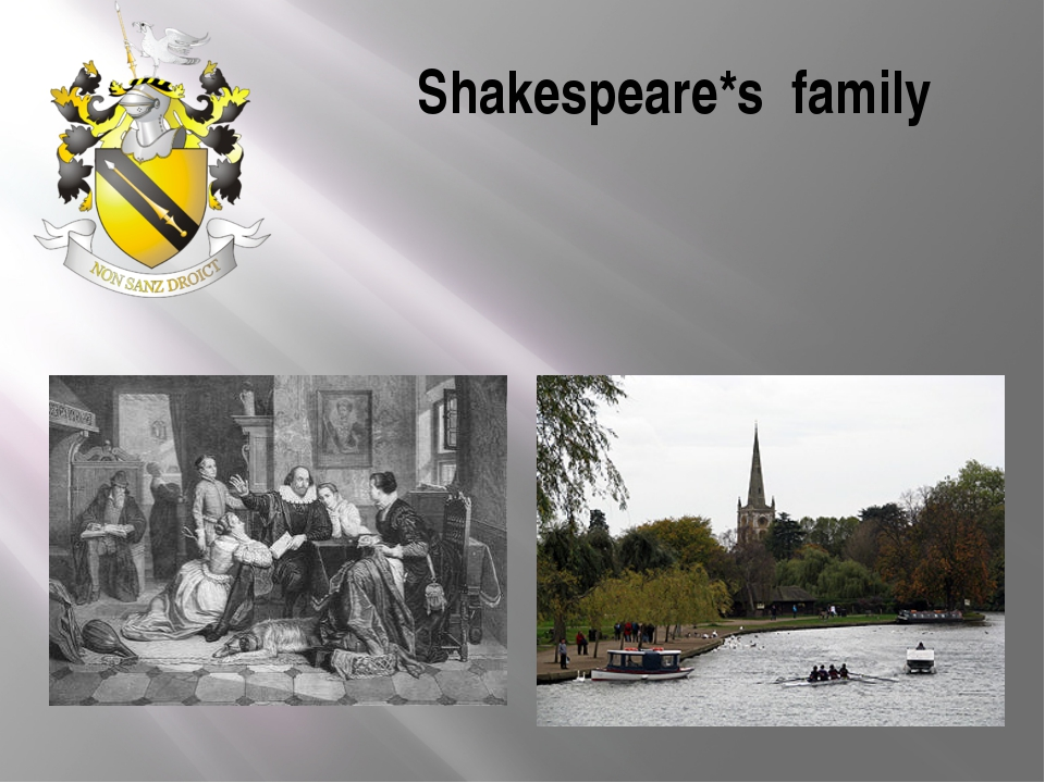 Shakespeare*s family