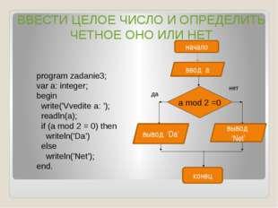 ИСПОЛЬЗОВАННАЯ ЛИТЕРАТУРА: Угринович Н.Д. Информатика и ИКТ: учебник для 9 кл