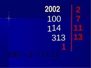 2002 2 1001 7 143 13 11 13 1