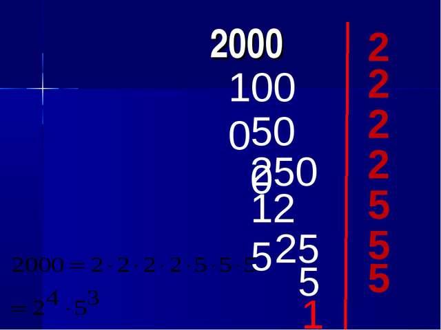 2000 2 1000 2 500 250 2 2 125 25 5 1 5 5 5