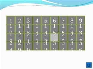 1 2 9 8 7 6 5 4 3 10 11 12 13 14 15 16 17 18 34 33 32 31 30 29 28 20 19 21 35