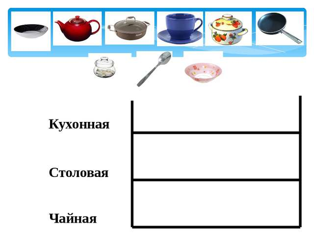 Кухонная Столовая Чайная