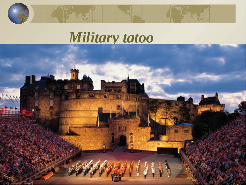 Military tatoo