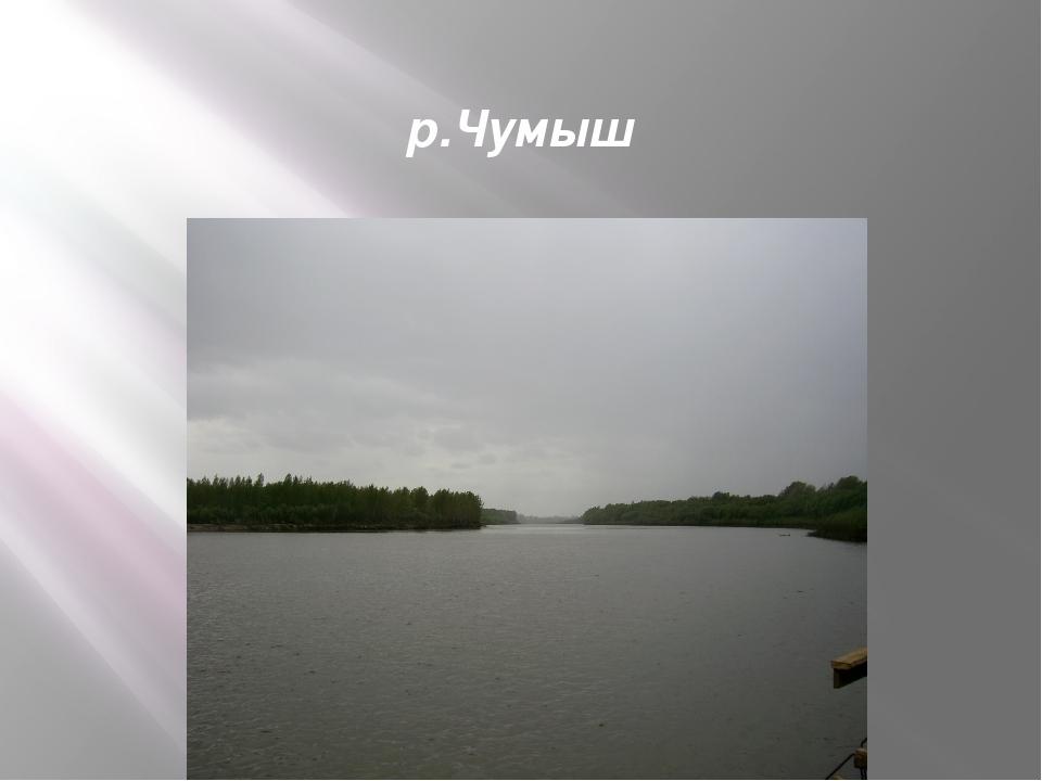 р.Чумыш