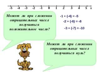 Может ли при сложении отрицательных чисел получиться положительное число? Мож