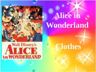 Alice in Wonderland Clothes