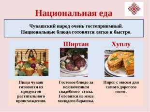 Национальная еда Чувашский народ очень гостеприимный. Национальные блюда гото