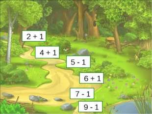3 5 4 7 6 8 2 + 1 4 + 1 5 - 1 6 + 1 7 - 1 9 - 1