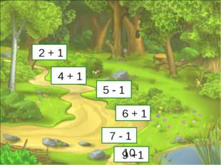 3 5 4 7 6 8 2 + 1 4 + 1 5 - 1 6 + 1 7 - 1 9 +1 10