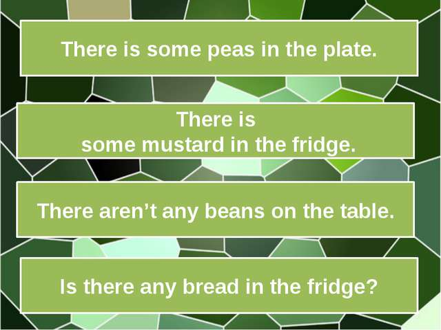 There is some peas in the plate. There is some mustard in the fridge. There a...