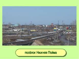 посёлок Нижняя Пойма