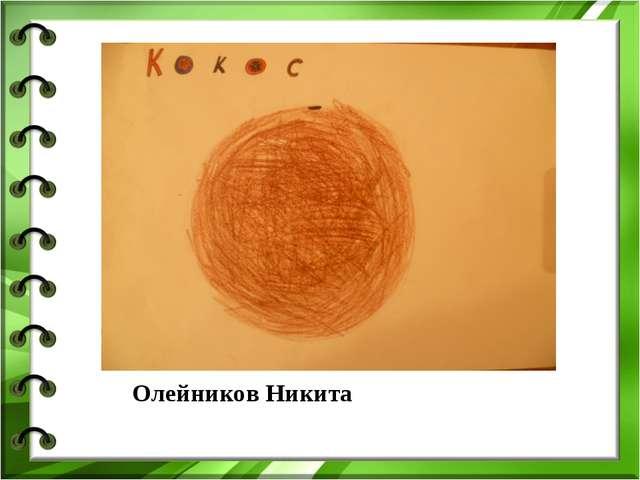 Олейников Никита