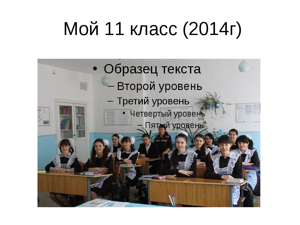 Мой 11 класс (2014г)