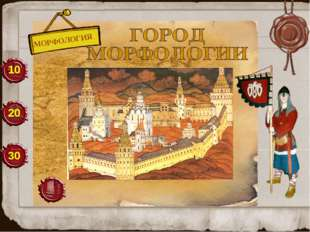 МОРФОЛОГИЯ 10 20 30